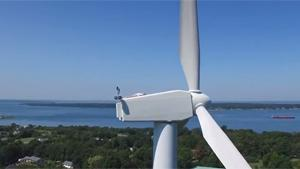 Sunbathing On Wind Turbine
