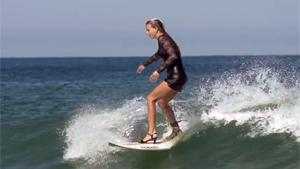 Surfing On High Heels