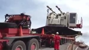 Heavy Equipment Transportation Fail