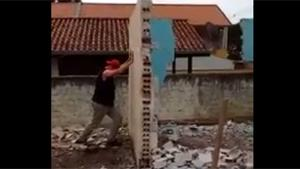 Pushing Wall Ends In Disaster
