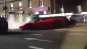 Crashing Brand New La Ferrari