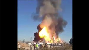 Texas Gas Plant Says BOOM!