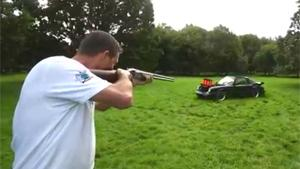 Clay Shooting With Classic Porsche