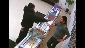 Store Owner Fights Off Robber