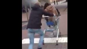 Shopping Trolley Crash