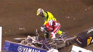Supercross Racer Beats Up Competitor