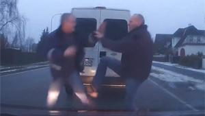 Violent Danish Road Rage