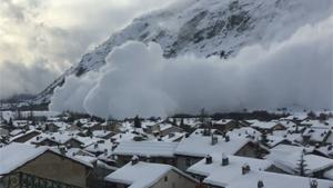 Avalanche Hits Town