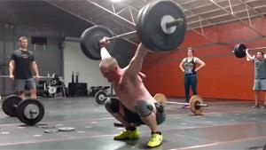 Crossfit Lift Fail