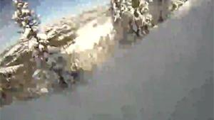 Snowboarder Gets Caught In Avalanche