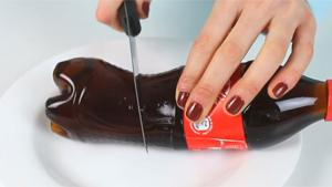 Cutting Coca Cola Bottle In Half