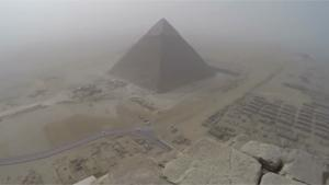 Climbing The Pyramid Of Giza