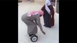 Saudi Dad Crashes With Hoverboard