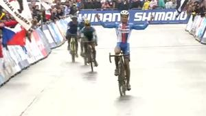 Epic Cyclo Cross Finish Fail
