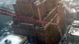 Crane Collapses In Manhattan