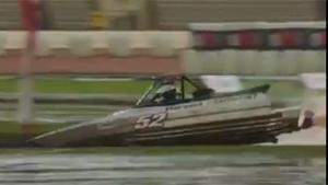 Bizarre Crash In Speedboat Time Trial