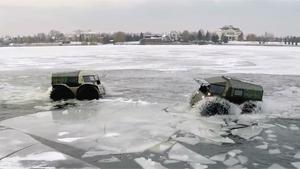 Sherp. Russians Indestructible New 4x4
