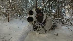 Airsoft Snow Sniper Team