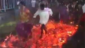 Firewalking Faceplant