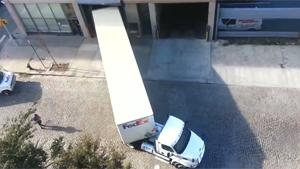Truck Driver With Parking Skills