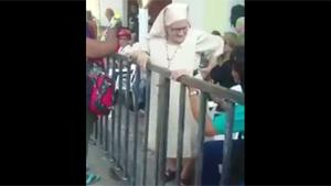 Naughty Nun At Mardi Gras