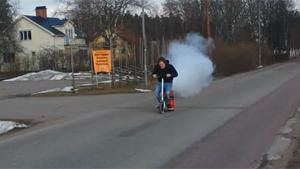CO2 Powered Scooter
