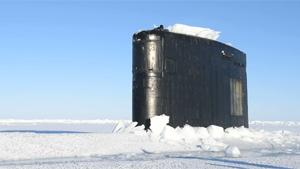 Submarine Surfaces In The Arctic