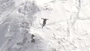 Freeride Skiing Crash