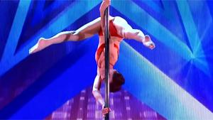 Sexy Pole Dance On Italia's Got Talent