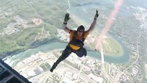Navy Seals Jump From Plane