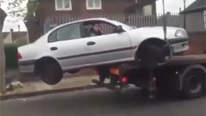 Hilarious Repo Attempt Fail