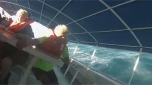 Scary Moment When Tourist Boat Capsizes