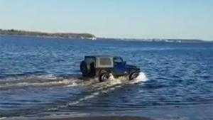 Driving Your Jeep In The Water