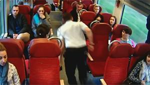 Train Driver Warns Passengers For Impact