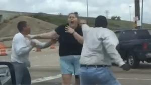 Road Rage Fight Turns Violent