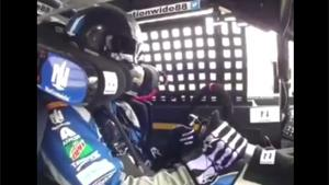Steering Wheel Comes Off During Race