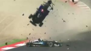Spectacular Crash In F3 Series