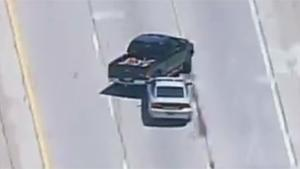 Pit Maneuvre Ends Police Chase