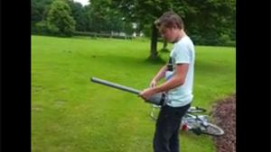 Ball Busting Potato Gun