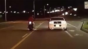 Aggressive Motorist Taken Down