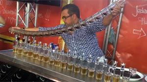 Jaegerbomb Train World Record