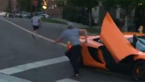 Kid Smashes Windscreen Of Supercar