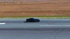 Camaro Rolls Over With 200 MPH