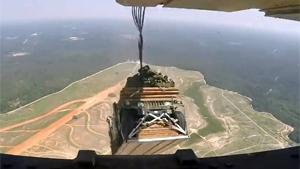 Aerial Delivery Of Humvees