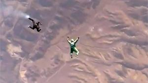 Epic Free Fall Without Parachute