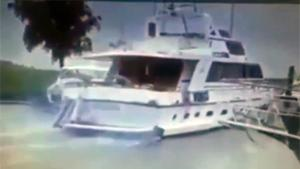Drunk Yachter Creates Havoc In Harbor