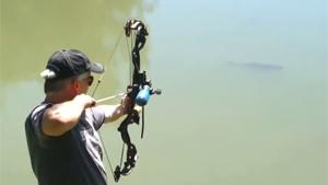 Fishing With Bow And Arrow