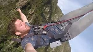 Losing iPhone During Bungee Jump