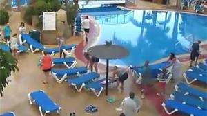 Sunbed Wars In Holiday Resort