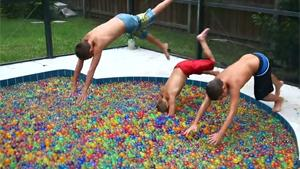 A Pool Full Of Orbeez